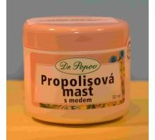 Propolisová masť s medom