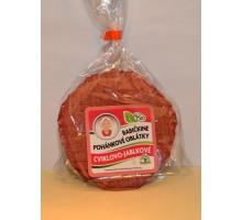 Babičkine pohánkové oblátky - cviklovo-jablkové BIO